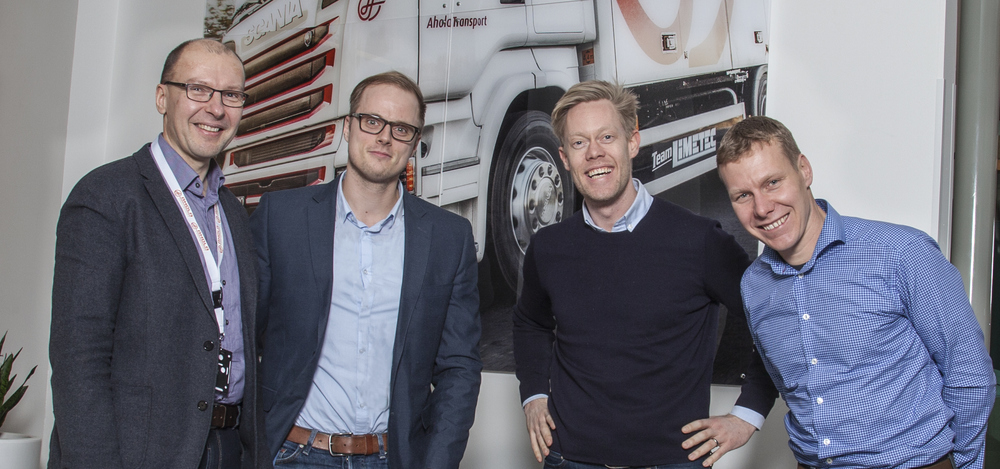 Ahola Transport invests in vehicle comuters from Vehco