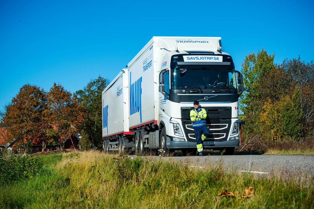Sävsjö transport makes the transports more efficient with Vehco